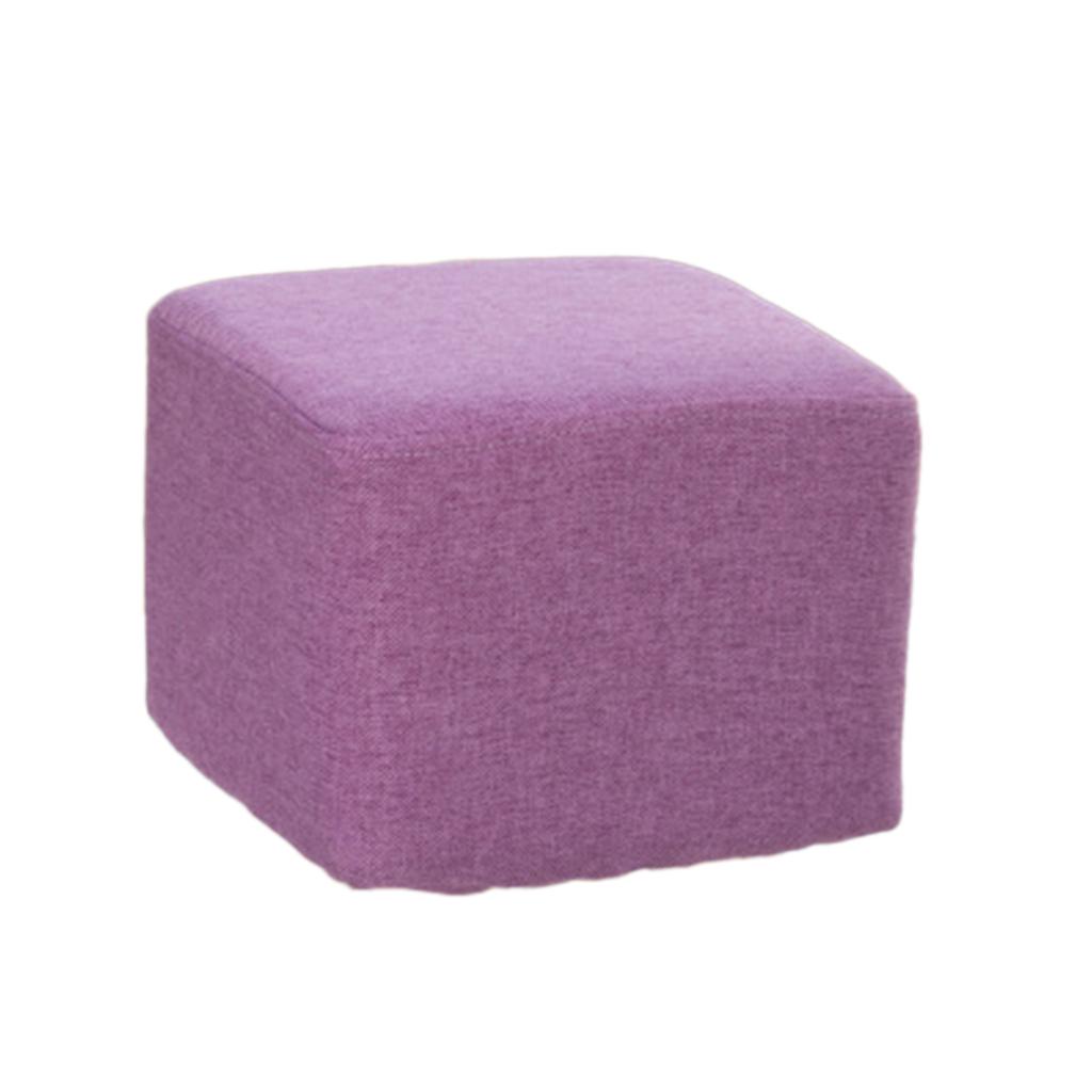 miniatura 15 - Manicotto-Protettivo-Per-Sgabelli-Quadrati-In-Legno-Accessorio-Poggiapiedi