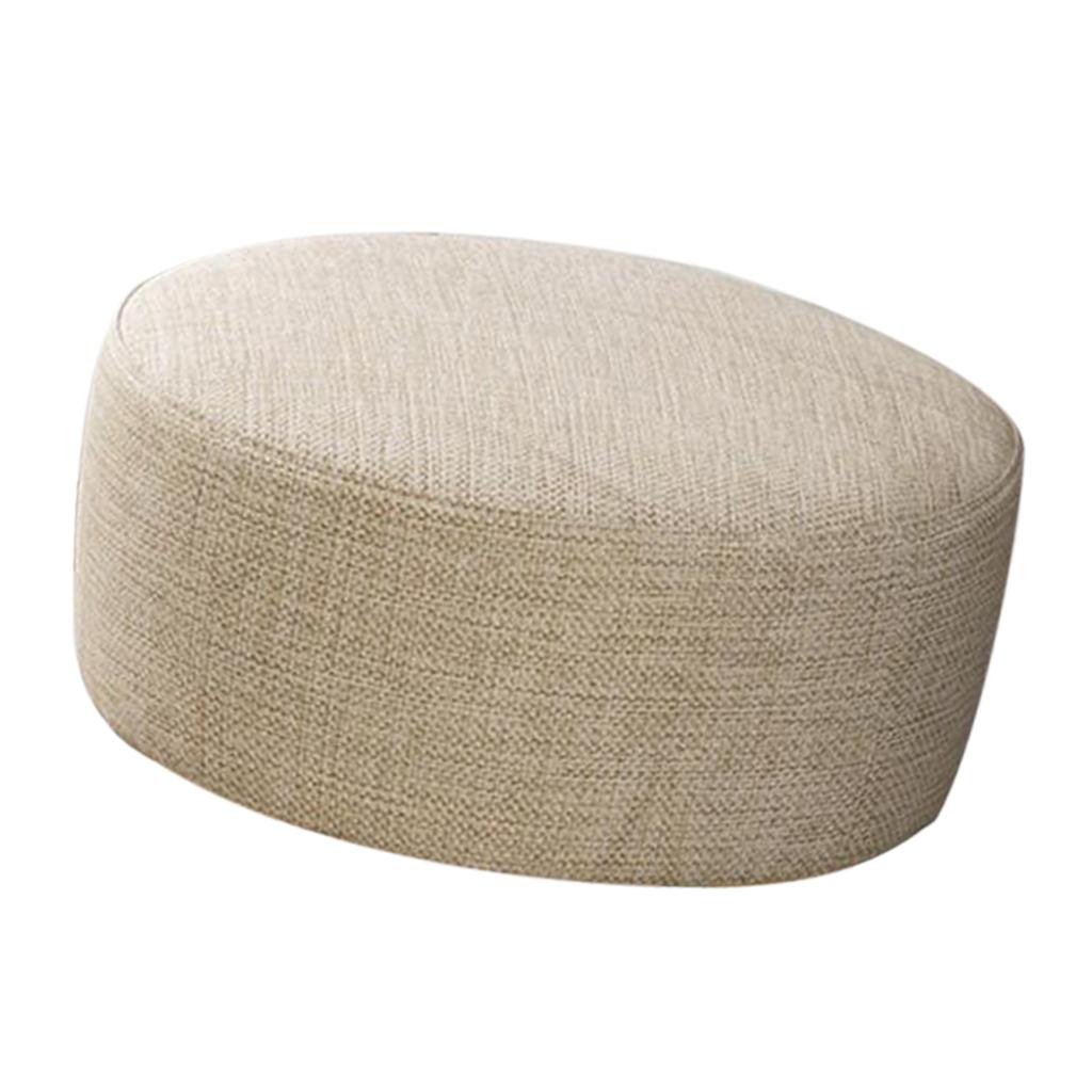 miniatura 37 - Cuscino-Pad-per-Sgabello-da-Bar-Fodera-Coprisedia-Rotonda-in-Tela-di-Cotone