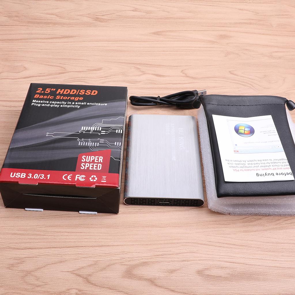2-5-in-External-SATA-3-0-USB-3-0-Hard-Drive-Disk-HDD-SSD-Enclosure-Case thumbnail 10