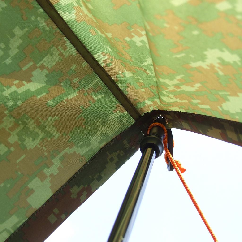 Camo-Impermeabile-Campeggio-Escursionismo-Tenda-Tarp-Baldacchino-Tende-Da miniatura 4