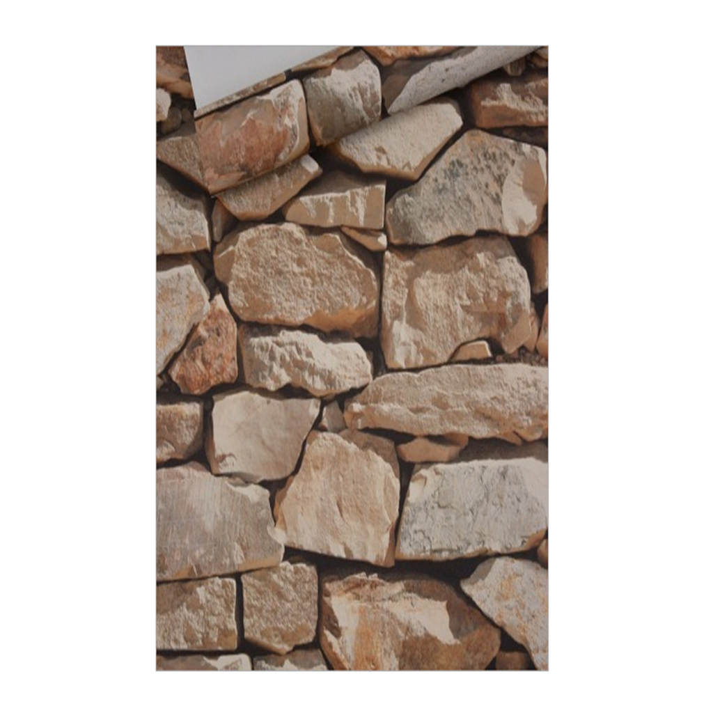 10m 3d Rocks Stone Removable Wall Decal Wall Paper Stickers Bar Home Xmas Ebay
