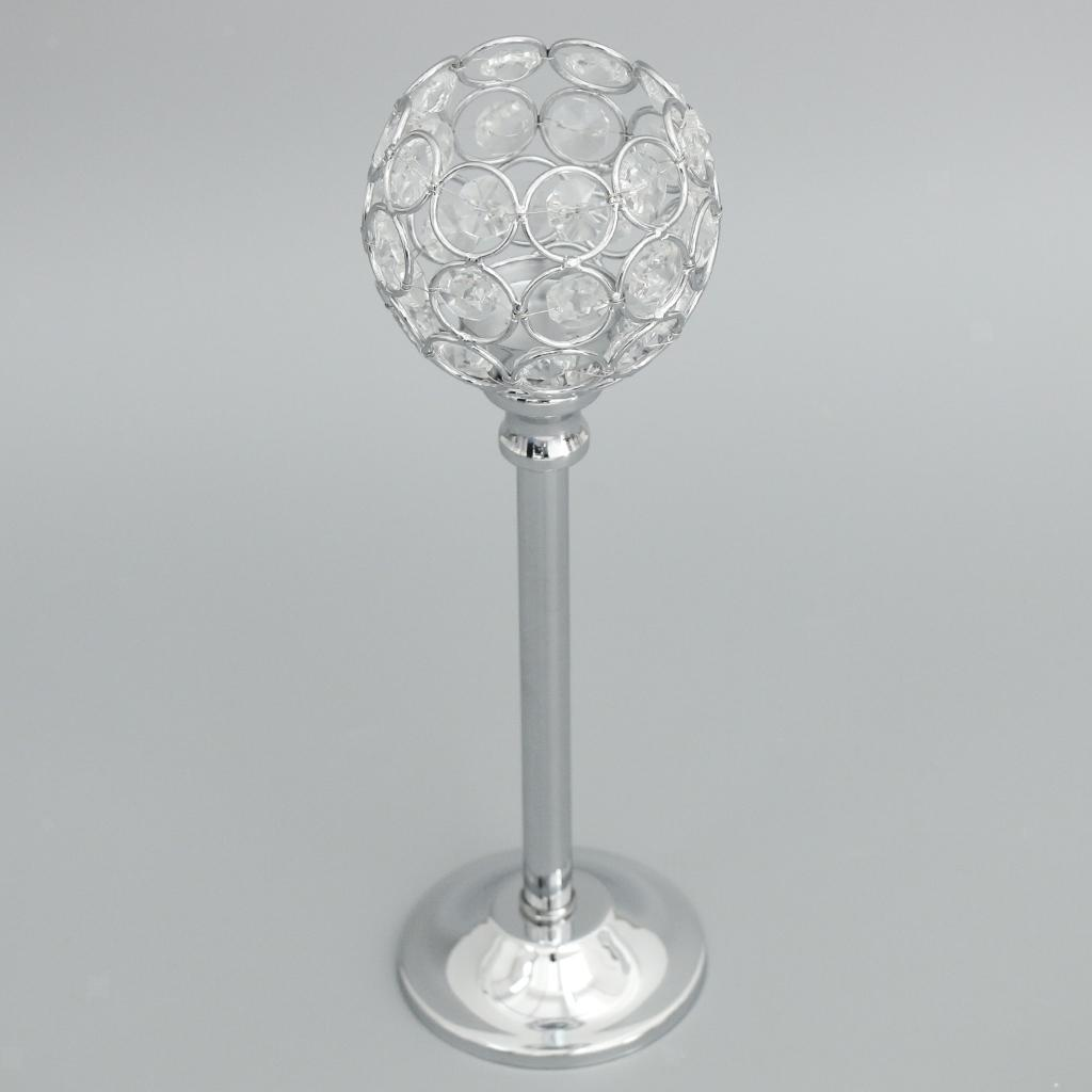 CRYSTAL-TABLE-STAND-CANDLE-HOLDER-CANDLESTICK-WEDDING-HOLIDAYS-CHRISTMAS-EVENTS thumbnail 39