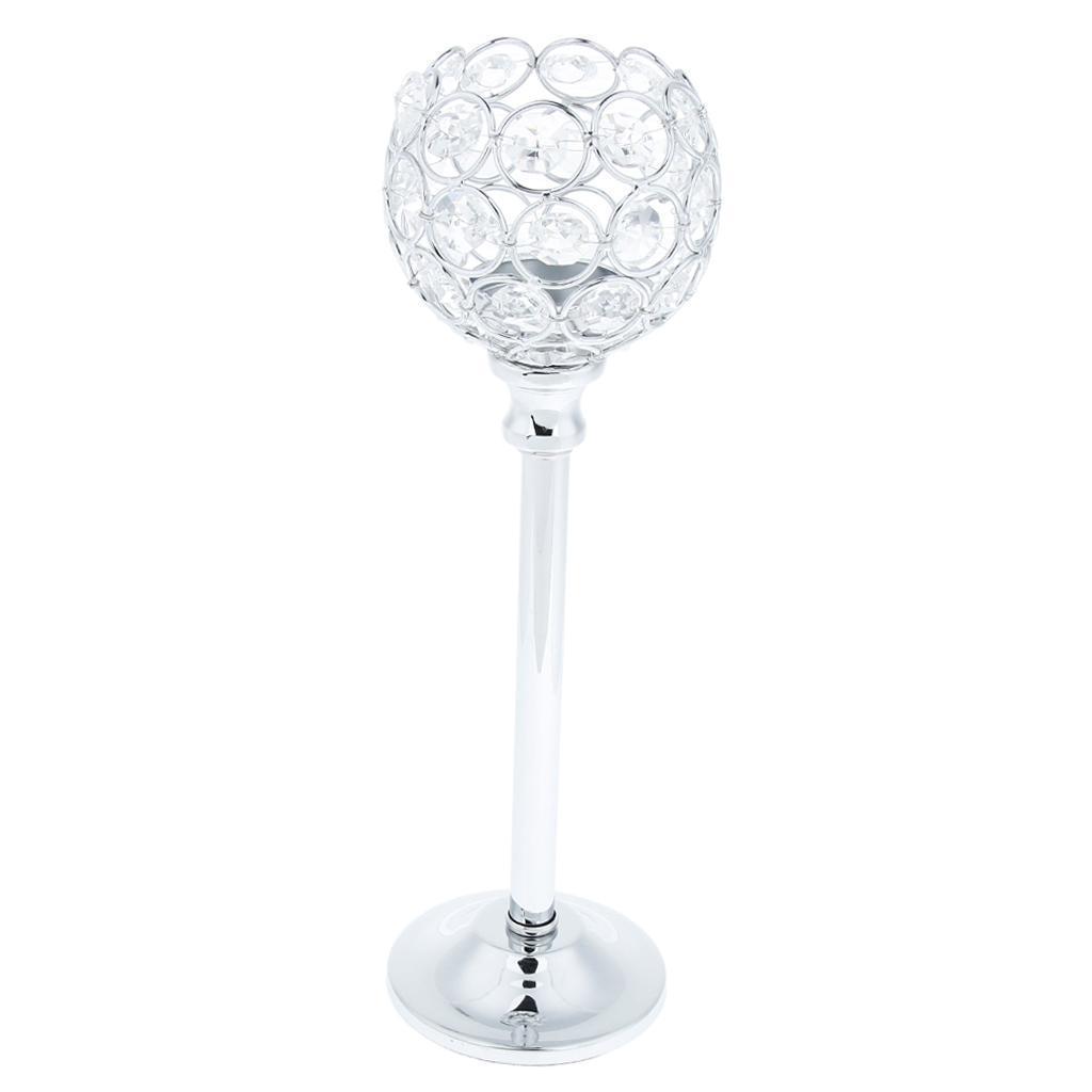 Porte-bougie-En-Cristal-Mosaique-Supporte-de-Bougie-pour-Fete-Decoration miniature 31
