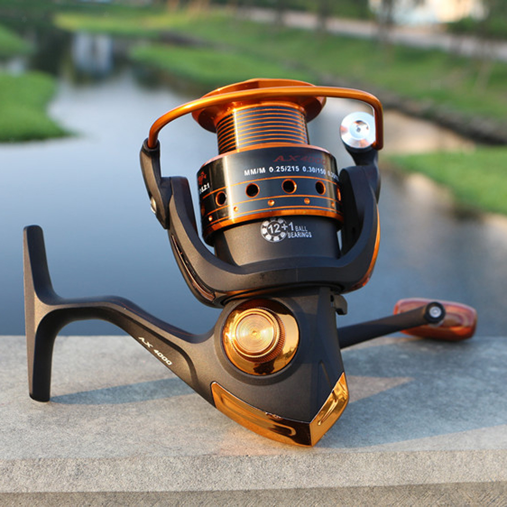 13BB-High-Speed-Metal-Right-Left-Saltwater-Fishing-Spinning-Pole-Reel-Fish-Reels thumbnail 3