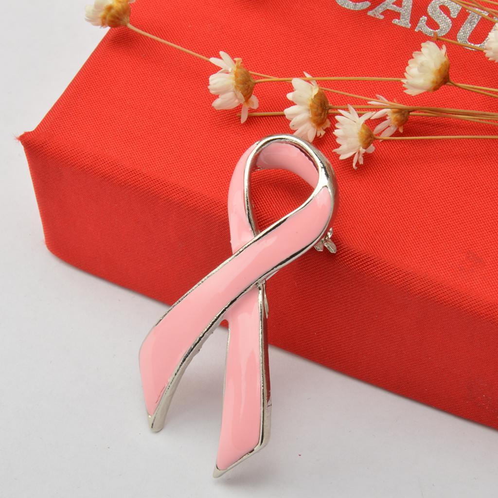 /Épingles De Ruban Badge Partie Bijoux chiwanji 6 Pcs Broche De Sensibilisation Au Cancer du Sein pour Les Femmes Bouquet en Mouchoir De Mariage