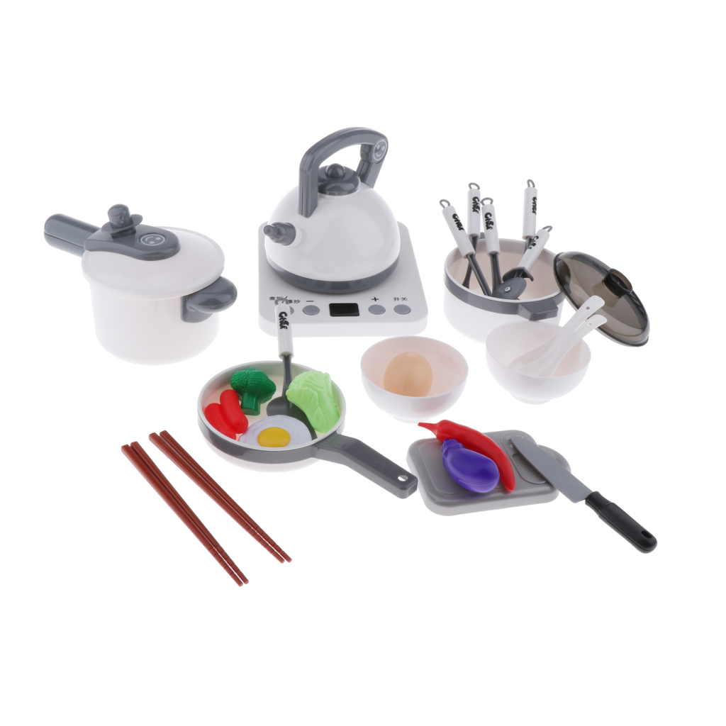 Kitchen-Pretend-Play-Accessories-Toys-Cookware-Set-Cooking-Utensils-for-Kids thumbnail 21