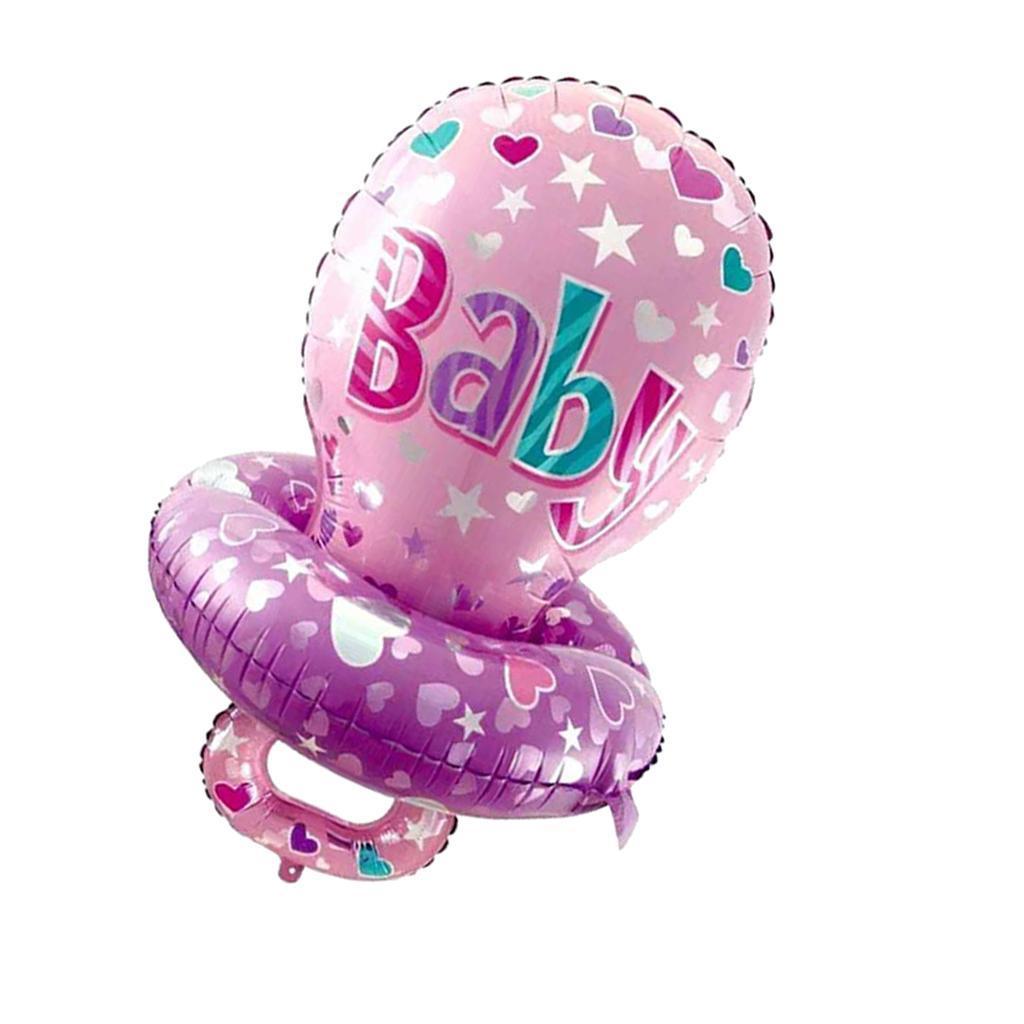 miniatura 6 - Baby Shower Ciuccio Palloncino Battesimo Ragazze Ragazzo Compleanno