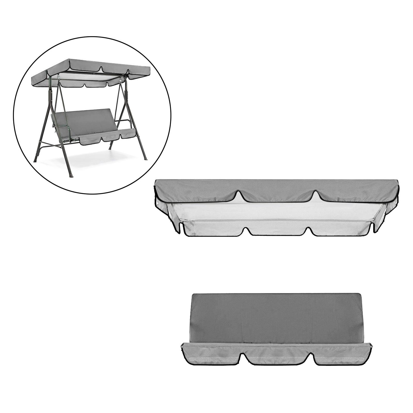 miniatura 36 - Sostituzione della copertura della sedia a dondolo da esterno per patio,