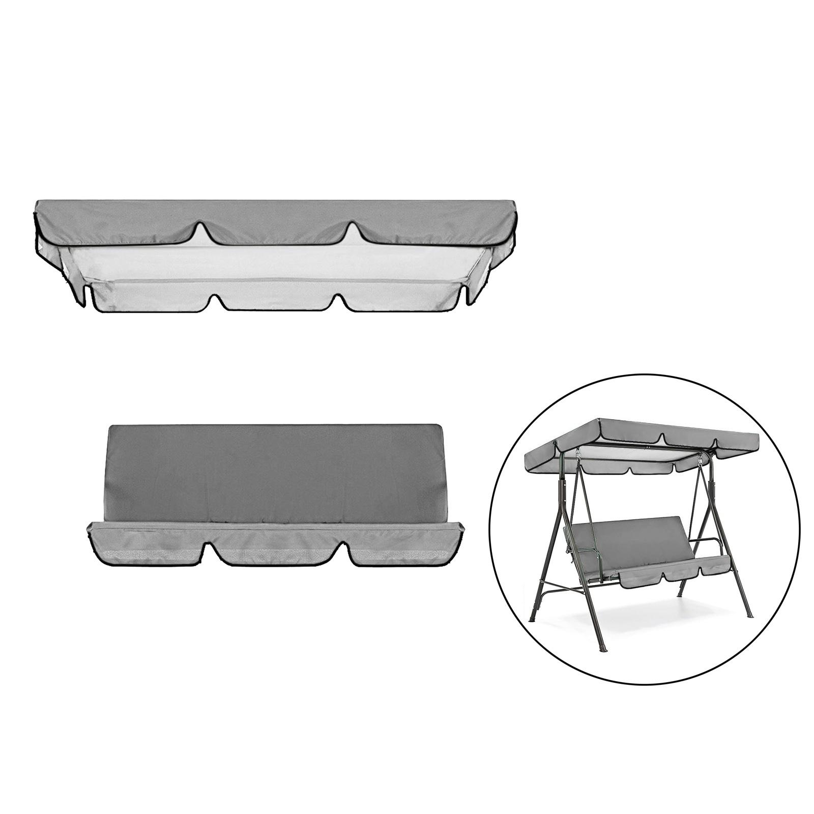 miniatura 31 - Sostituzione della copertura della sedia a dondolo da esterno per patio,