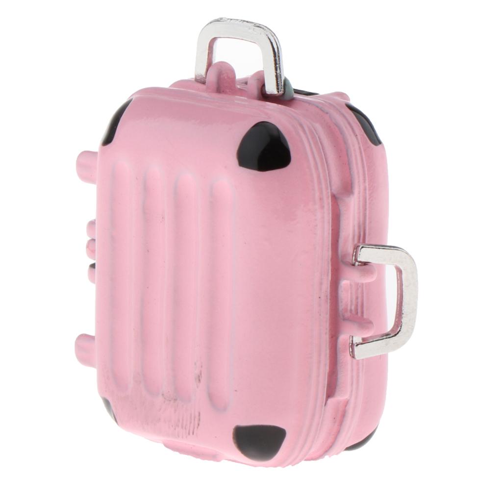 1-6-Scale-Simulation-Mini-Alloy-Luggage-Case-Model-Room-Decoration-Doll-Decor thumbnail 8