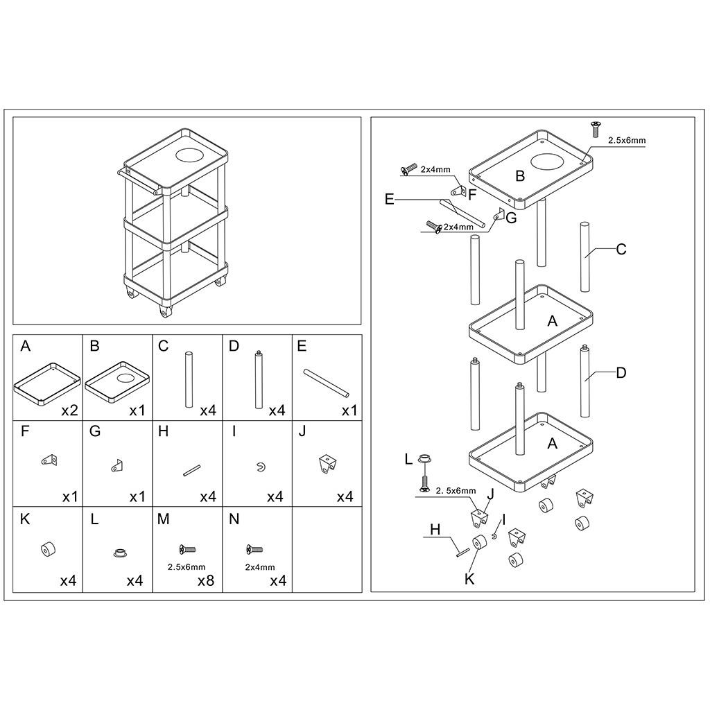 1 10 Rc Car Repair Maintenance Tools Storage Rack Carrier Fit For Trx4 Scx10 Ebay
