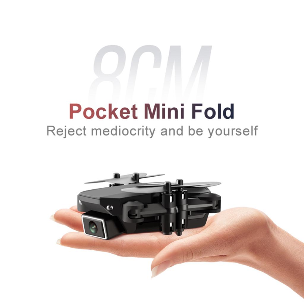 RC-Quadcopter-Drohne-HD-Kamera-Selfie-2MP-4K-WiFi-FPV-Faltbare-fuer-Kinder Indexbild 7