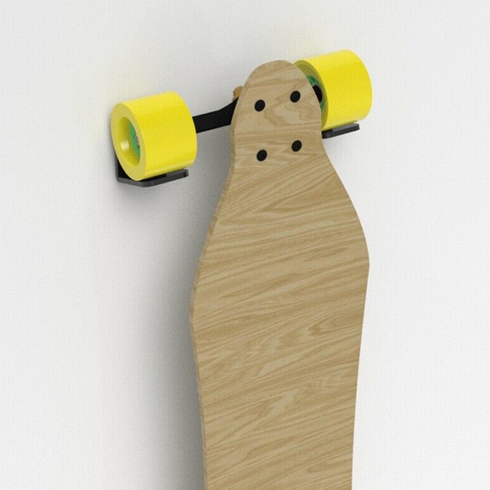 Espositore-appendiabiti-per-montaggio-a-parete-per-Skateboard-in-acrilico miniatura 24