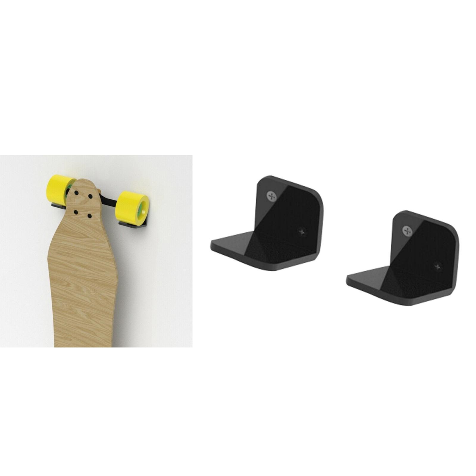 Espositore-appendiabiti-per-montaggio-a-parete-per-Skateboard-in-acrilico miniatura 16