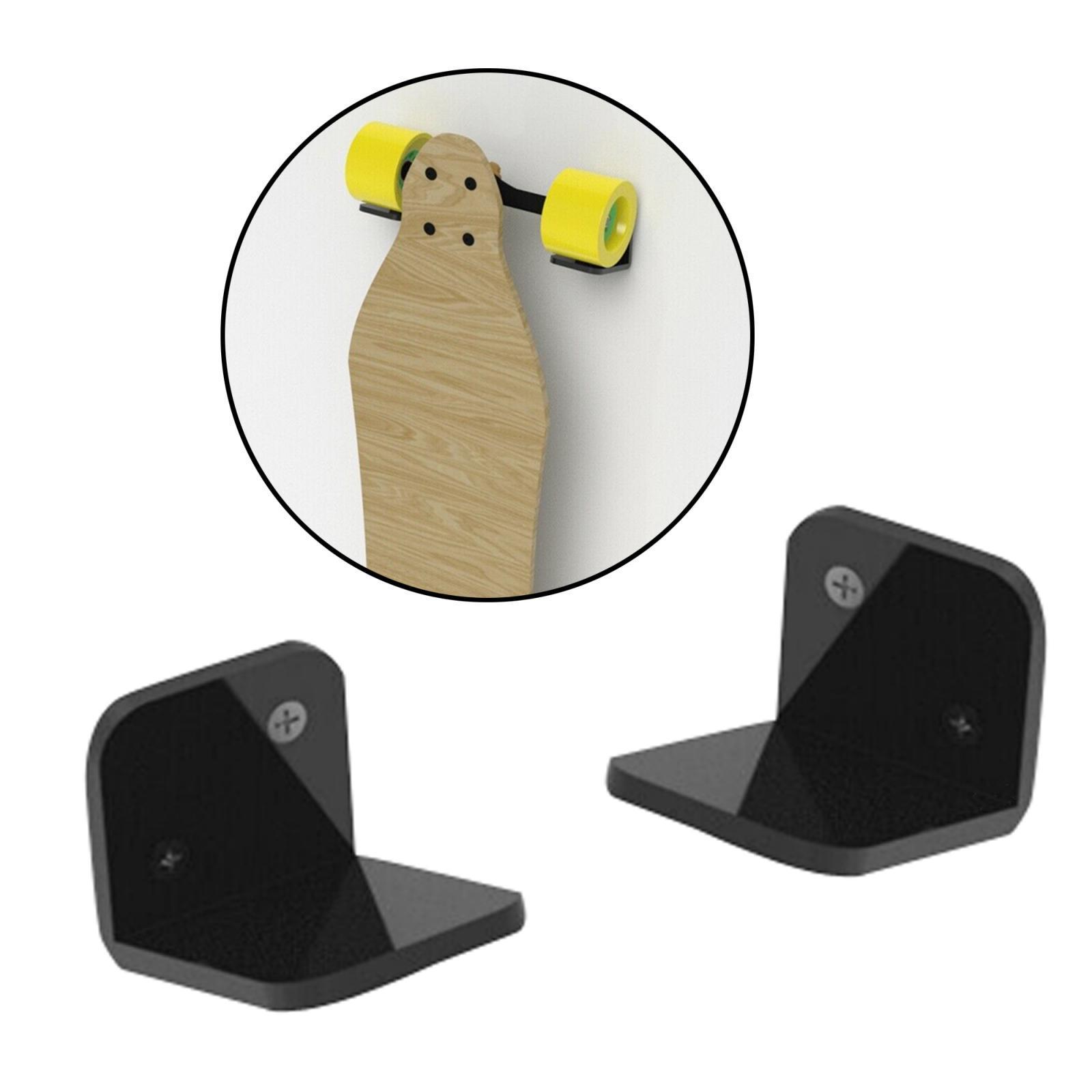 Espositore-appendiabiti-per-montaggio-a-parete-per-Skateboard-in-acrilico miniatura 18