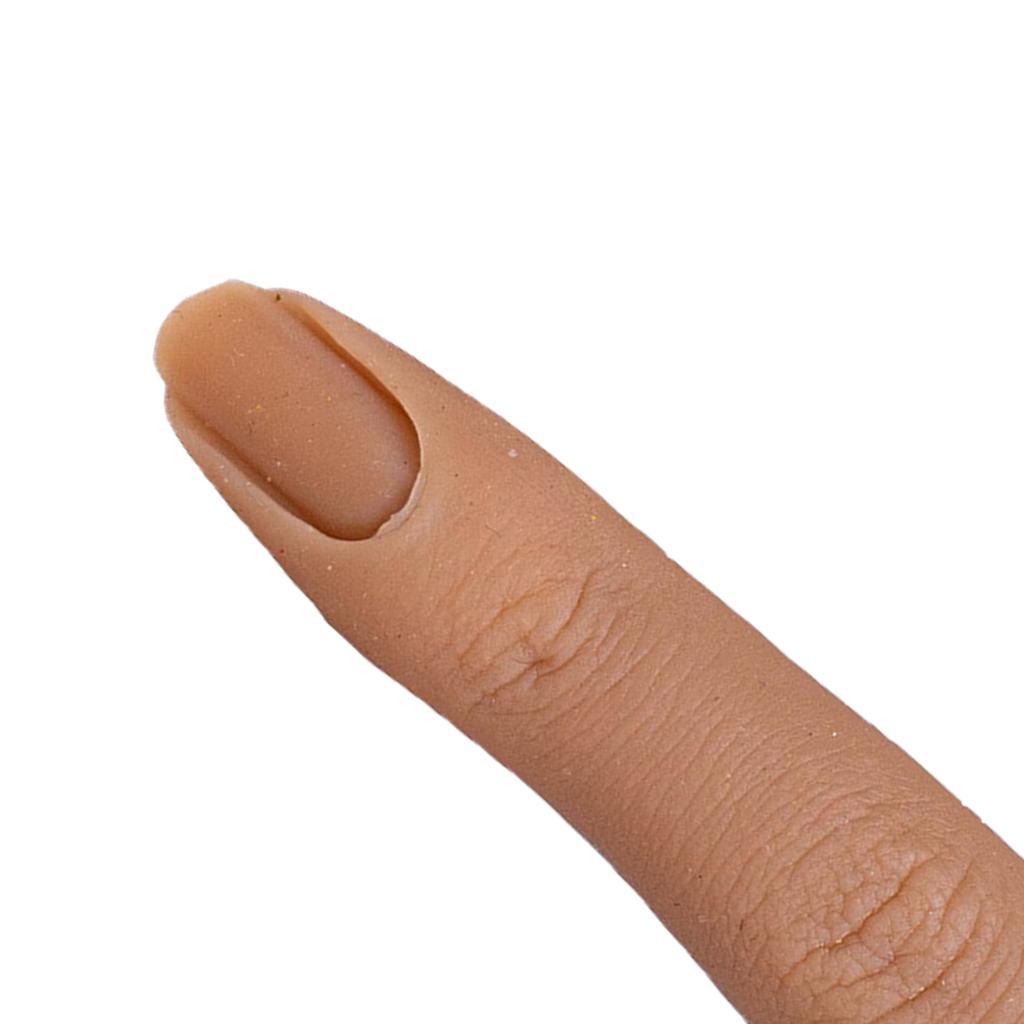 Formazione-per-manicure-con-modello-di-pratica-per-unghie-in-silicone-con-dita miniatura 12