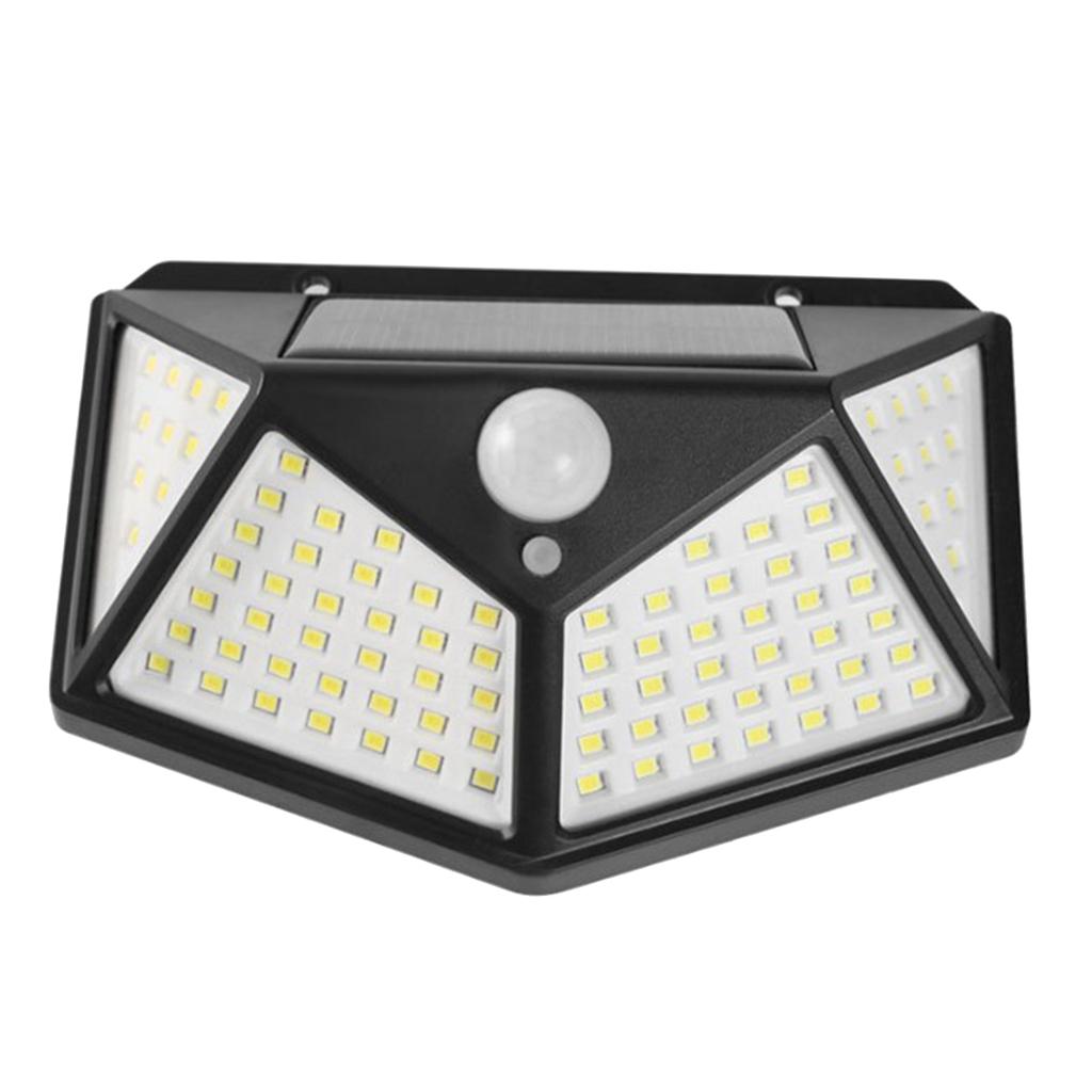 Sensore-di-movimento-a-LED-PIR-solare-Sicurezza-da-giardino-Lampada-da-parete miniatura 4