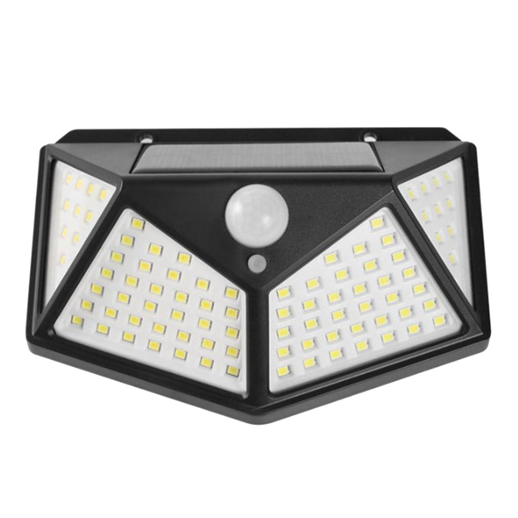 Sensore-di-movimento-a-LED-PIR-solare-Sicurezza-da-giardino-Lampada-da-parete miniatura 3