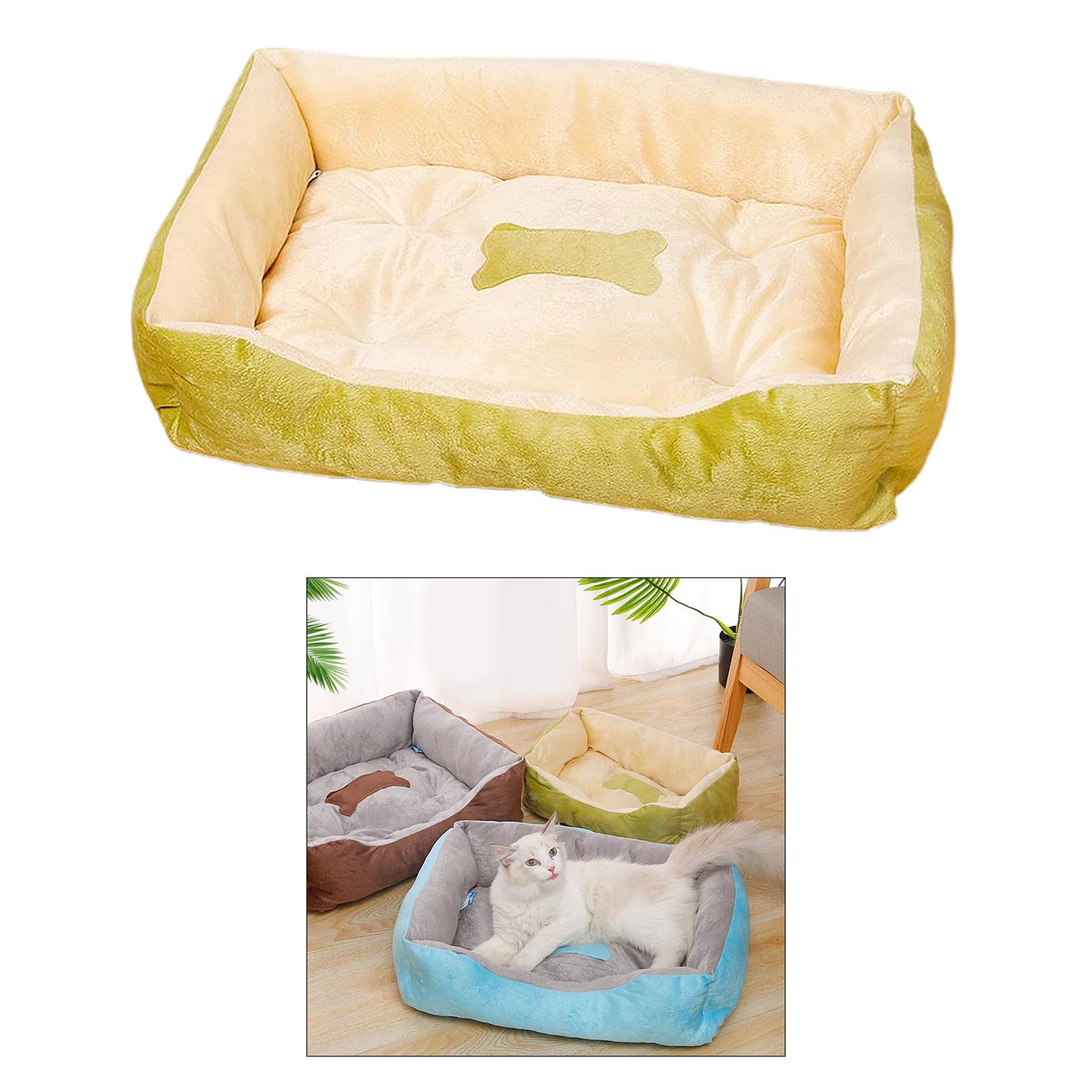 Indexbild 28 - Katze-Hund-Bett-Pet-Kissen-Betten-Haus-Schlaf-Soft-Warmen-Zwinger-Decke-Nest