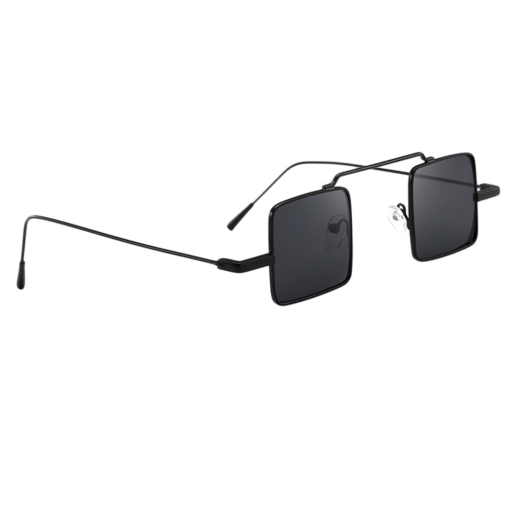 Klassische-quadratisches-Design-Sonnenbrille-mit-UV400-Schutz Indexbild 4