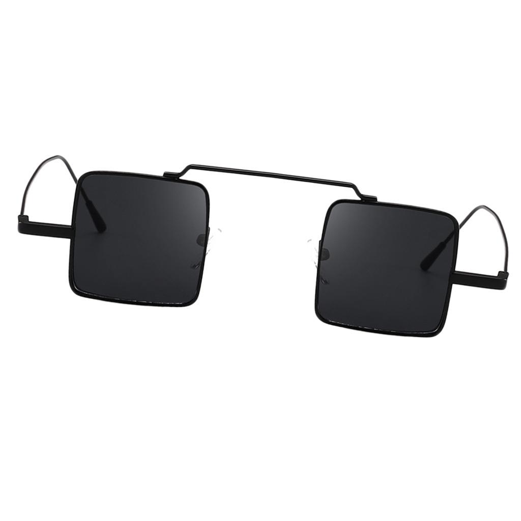 Klassische-quadratisches-Design-Sonnenbrille-mit-UV400-Schutz Indexbild 3