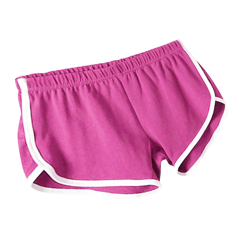 Shorts-de-sport-en-soie-de-lait-pour-femmes-Yoga-Dance-Pantalons-courts-Shorts miniature 20