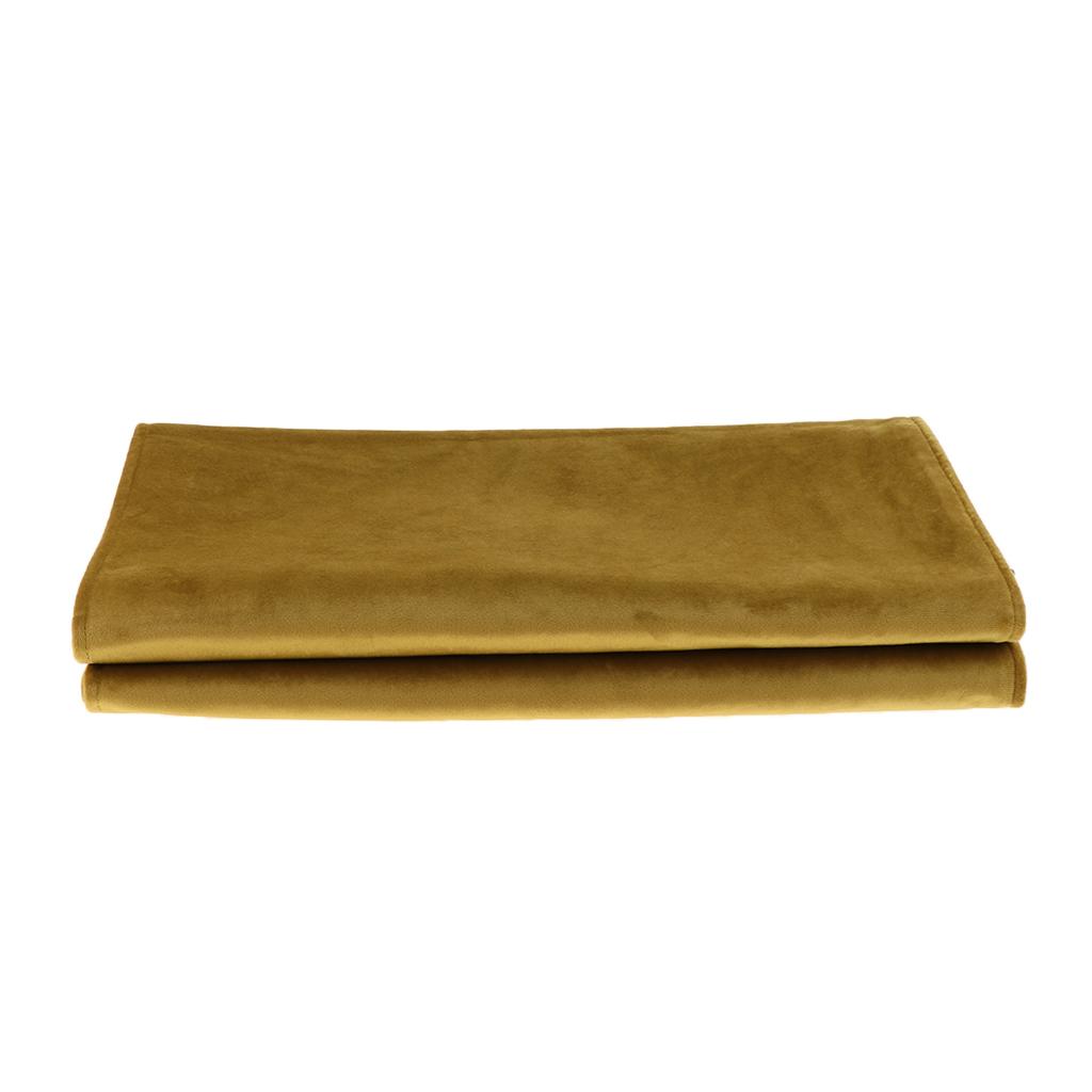 Bed Runner Bedding Schal Schutz für Schlafzimmer Hotel Hochzeit Khaki