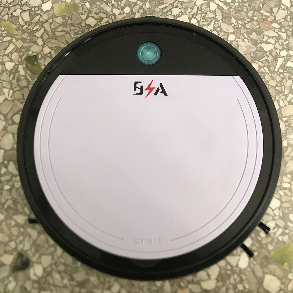 2 8 Slim Robot Vacuum Cleaner 1200pa Super Strong Suction