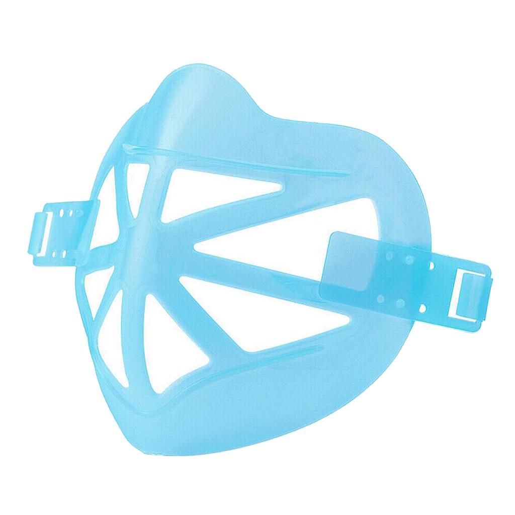 Indexbild 3 - Unisex Wiederverwendbarer 3D-Maskenstützrahmen Cooler Atmungsaktiver