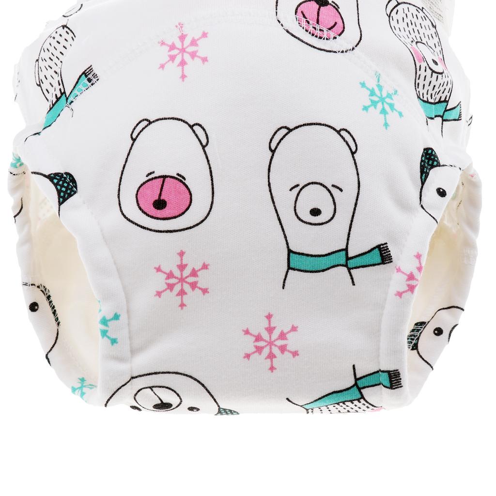 Indexbild 7 - Kleinkind Baby Kinder Baumwolltuch Wasserdicht Pull On Up Pants