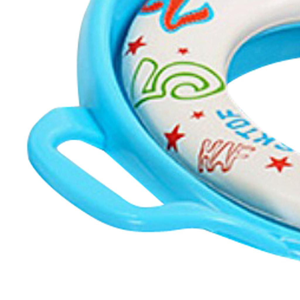 Indexbild 5 - Kindersitz Kinder Kleinkind mit Griff Toilette Soft Pad Kissen
