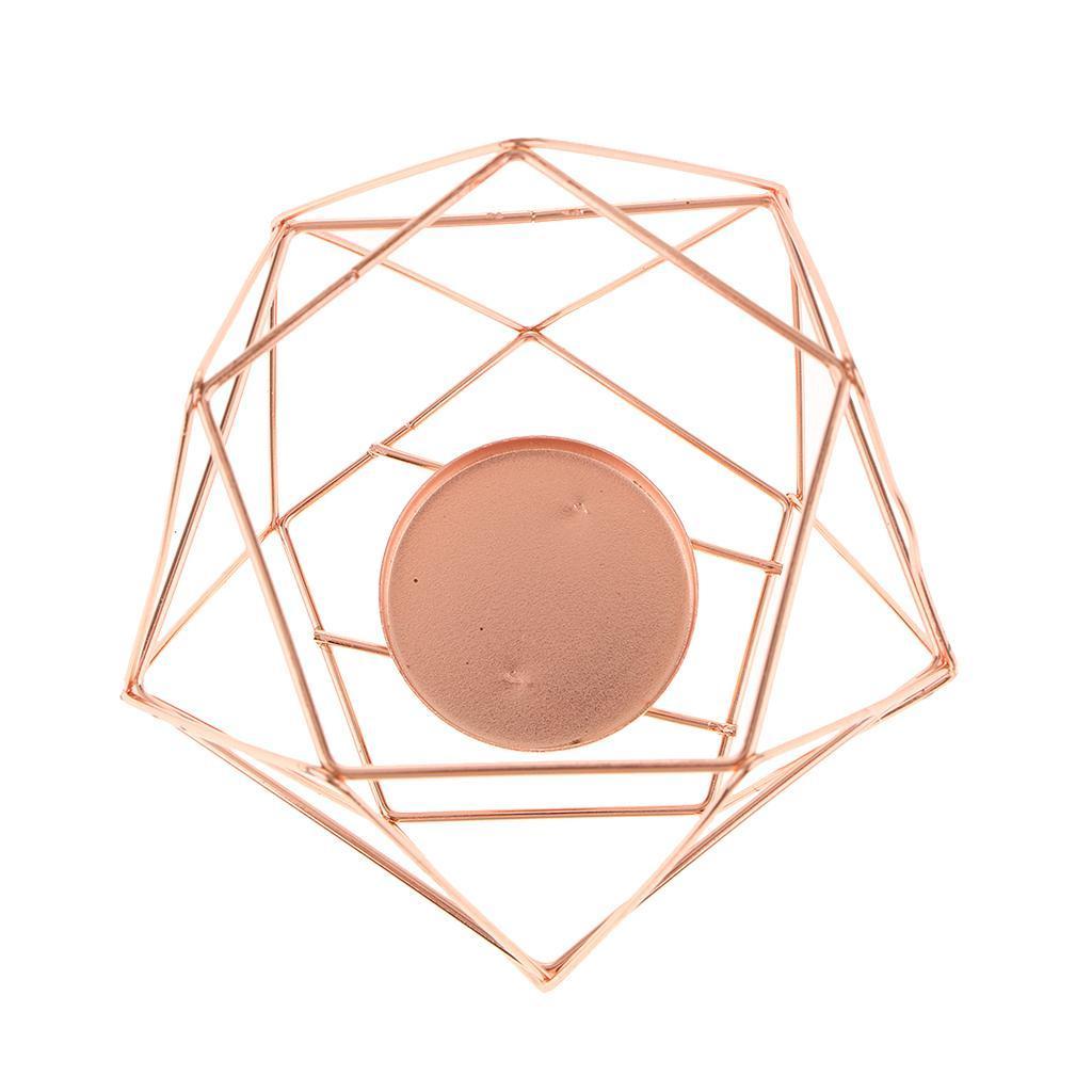 Lovoski-Wedding-Wire-3D-Geometric-Tealight-Candle-Holder-Candelabra-Candlestick thumbnail 24