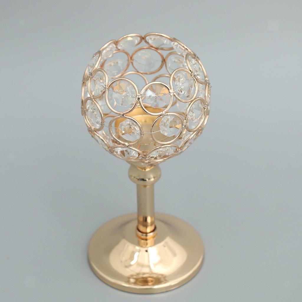 Porte-bougie-En-Cristal-Mosaique-Supporte-de-Bougie-pour-Fete-Decoration miniature 43