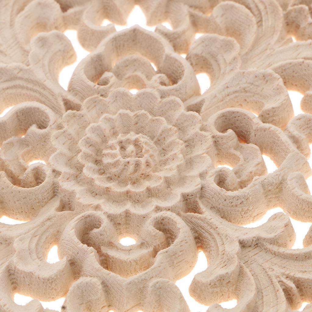 10-12-15-20cm-European-Style-Elegant-Wooden-Furniture-Decal-Door-Window-Decor thumbnail 6