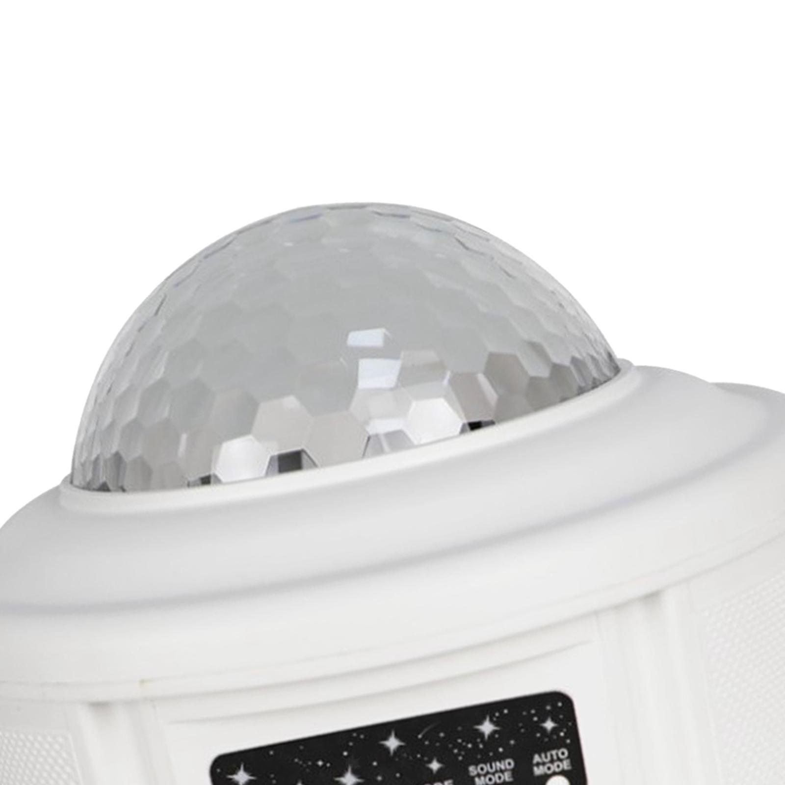miniatura 6 - Bluetooth-LED-Galaxy-Proiettore-Lampada-notturna-stellata-Luce-notturna-a