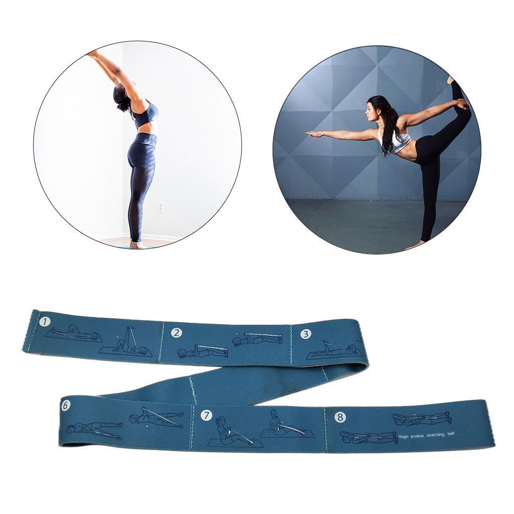 miniatura 9 - Pulsera stretch elástica bailar banda pilates Dance pierna prolongar camilla