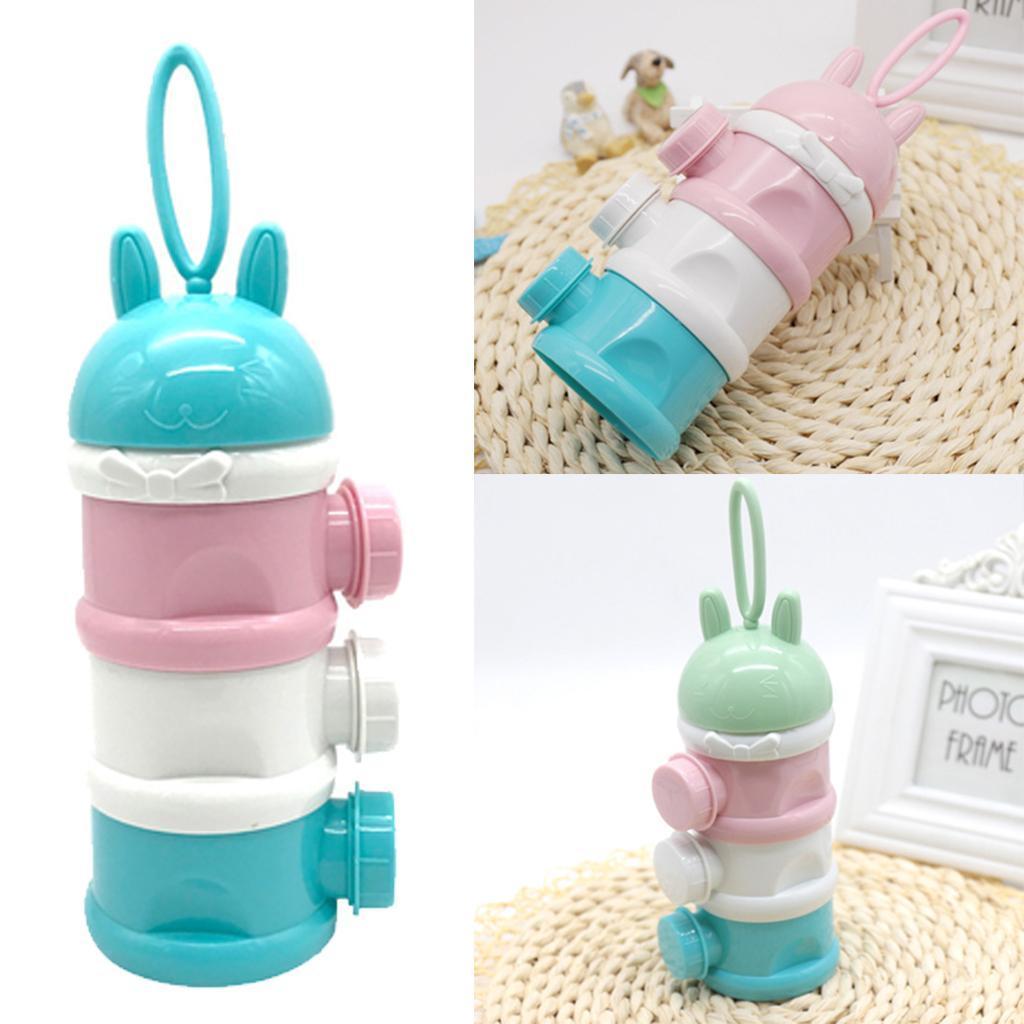 thumbnail 4 - 3 Layers Food-Grade Baby Milk Powder Dispenser Container Feeding Bottle