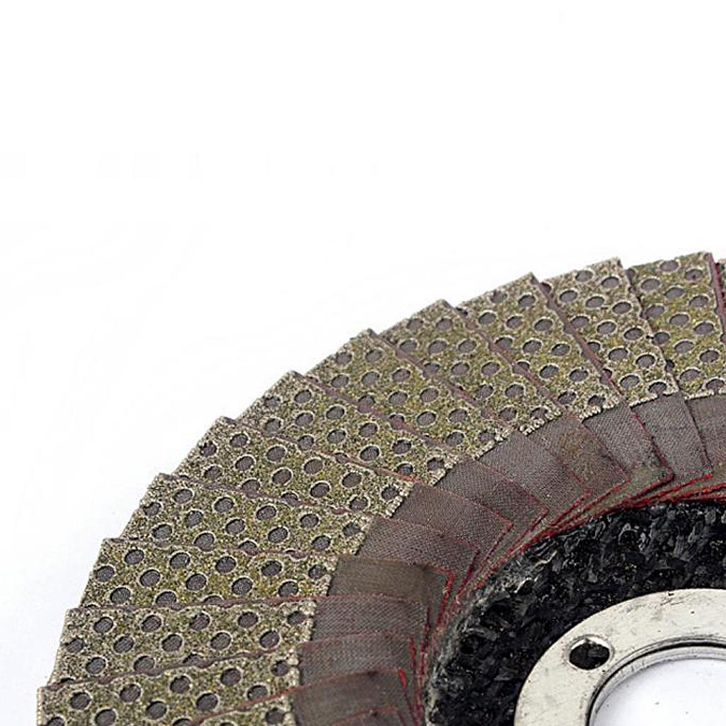 Abrasivi-A-Disco-Lamellare-Diamantati-Lamiera-per-Rettifica-Carburo-Cementato miniatura 9