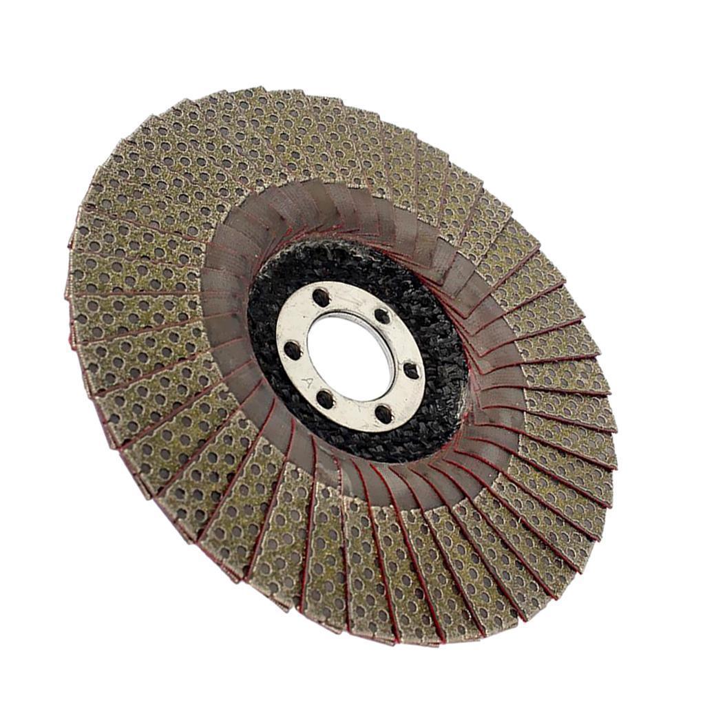 Abrasivi-A-Disco-Lamellare-Diamantati-Lamiera-per-Rettifica-Carburo-Cementato miniatura 10