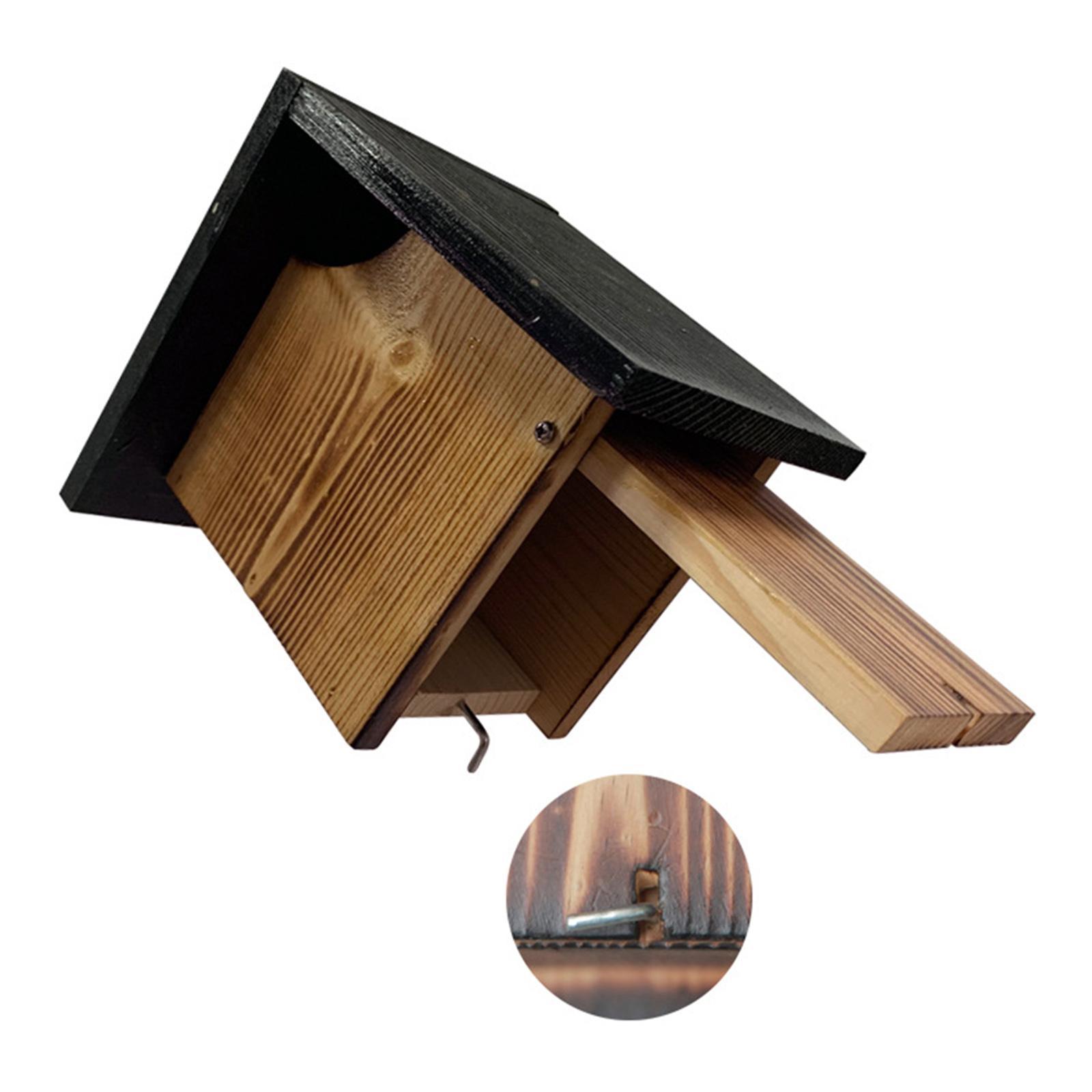 thumbnail 8 - Holzgarten Vogelkäfig Wand Vogelnest Hütte Paarung Schlafbox