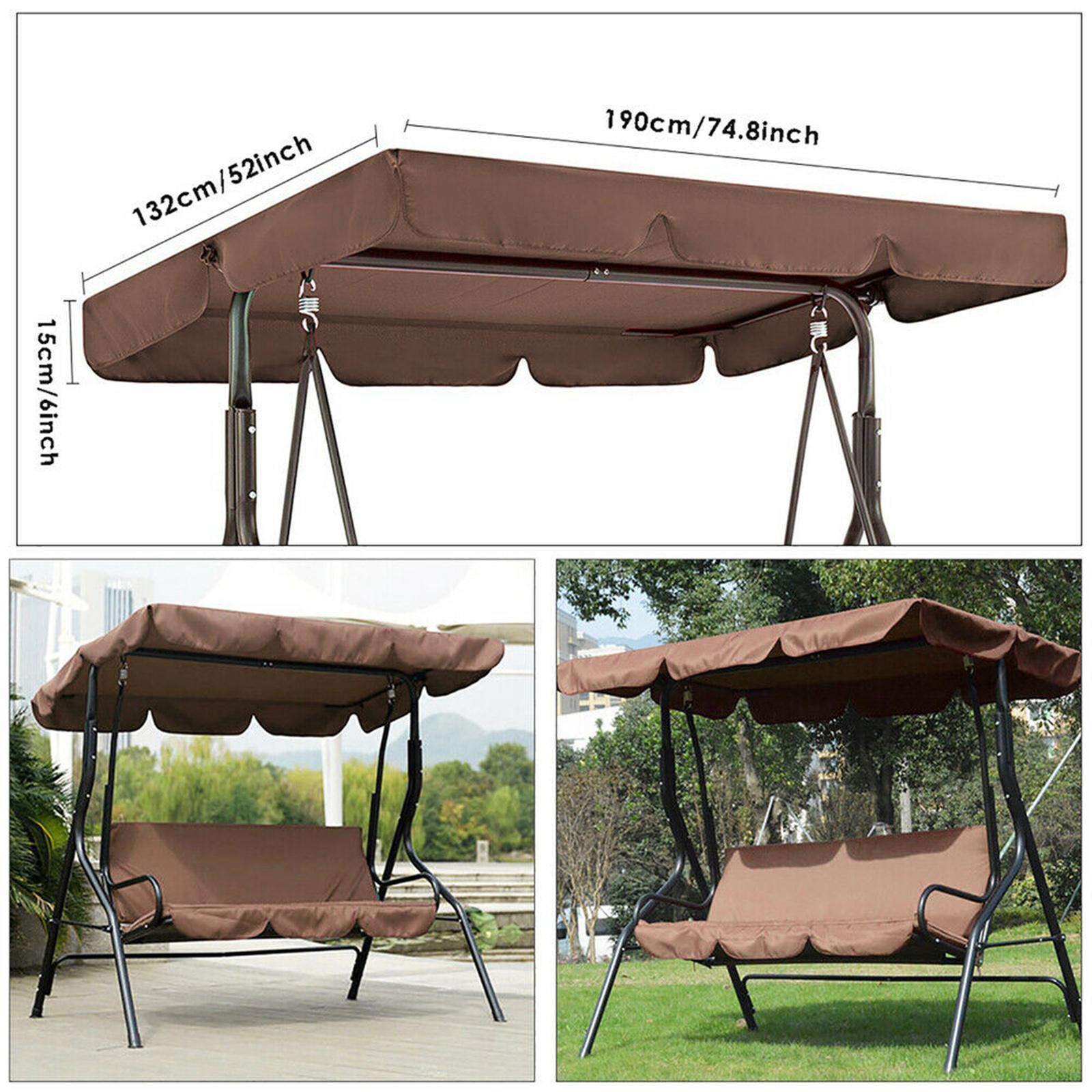 miniatura 41 - Sostituzione della copertura della sedia a dondolo da esterno per patio,