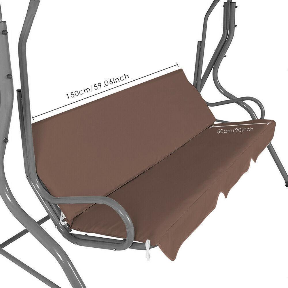 miniatura 43 - Sostituzione della copertura della sedia a dondolo da esterno per patio,