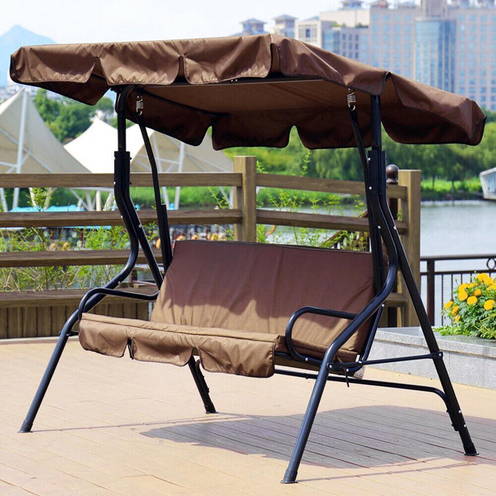 miniatura 45 - Sostituzione della copertura della sedia a dondolo da esterno per patio,