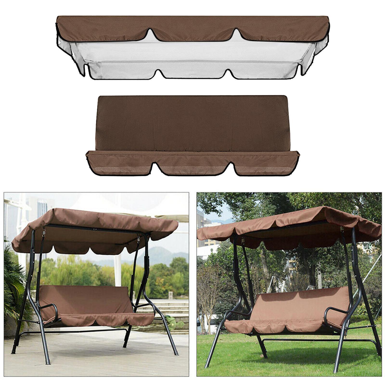 miniatura 44 - Sostituzione della copertura della sedia a dondolo da esterno per patio,