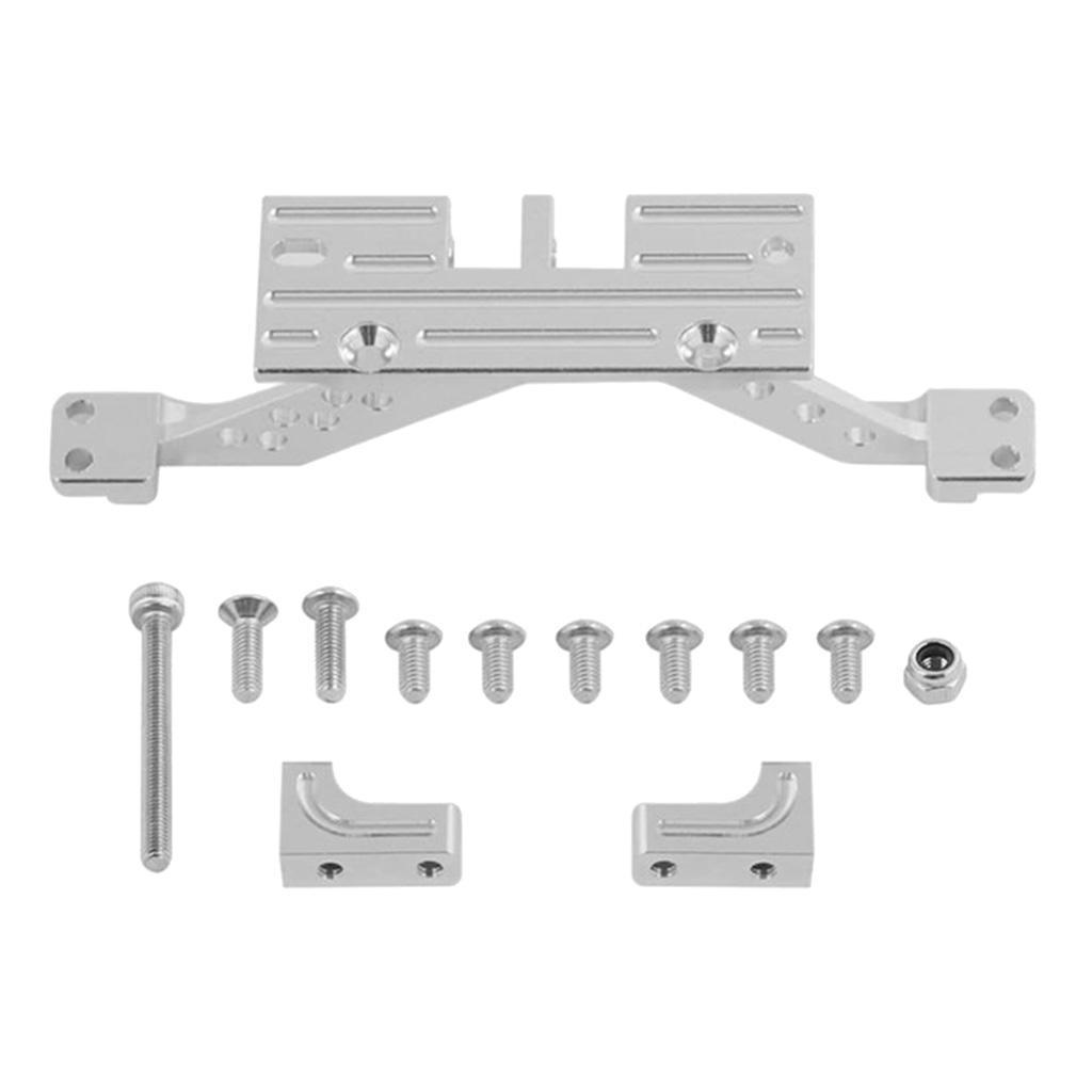 Aluminum-Alloy-Servo-Mount-Rear-Axle-Reinforcement-Mount-For-RC-1-10-SCX10-Cars thumbnail 4