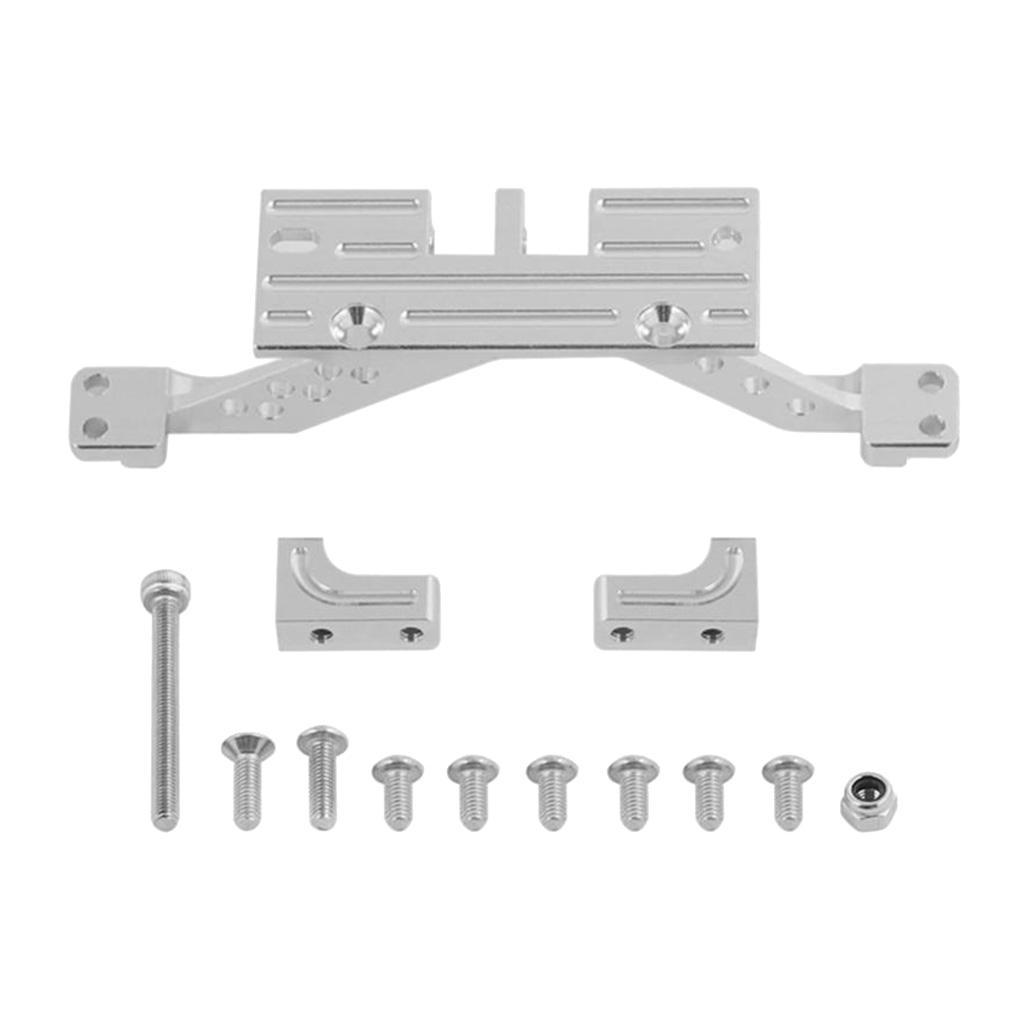 Aluminum-Alloy-Servo-Mount-Rear-Axle-Reinforcement-Mount-For-RC-1-10-SCX10-Cars thumbnail 3
