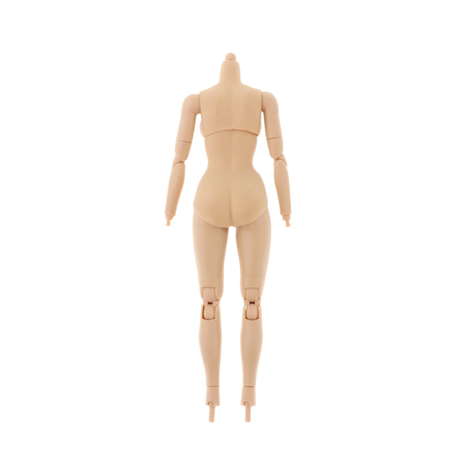 miniature 11 - 1/6 Scale Female Flexible Body 12 Inches Action Figure Body Seamless Figure