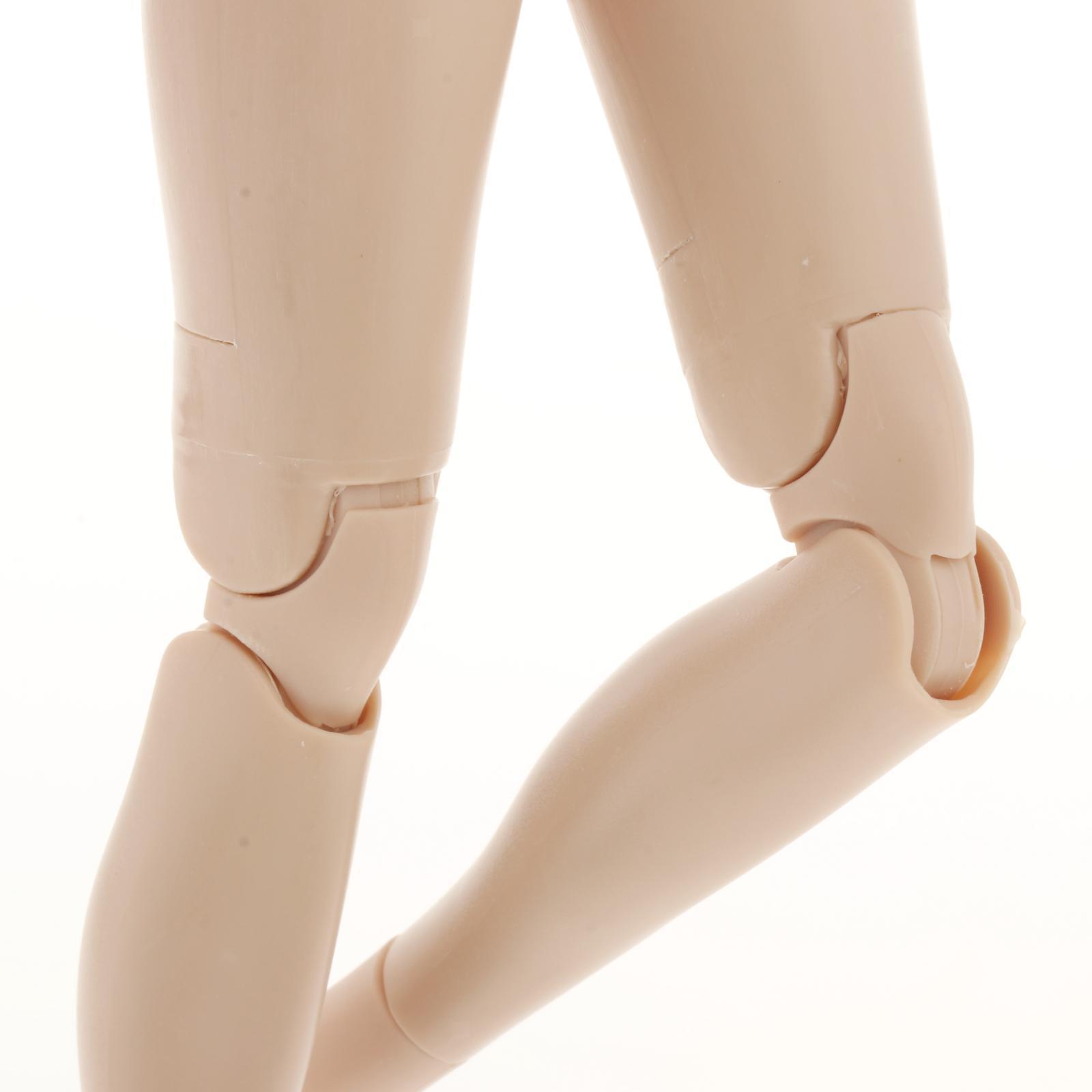 miniature 5 - 1/6 Scale Female Flexible Body 12 Inches Action Figure Body Seamless Figure