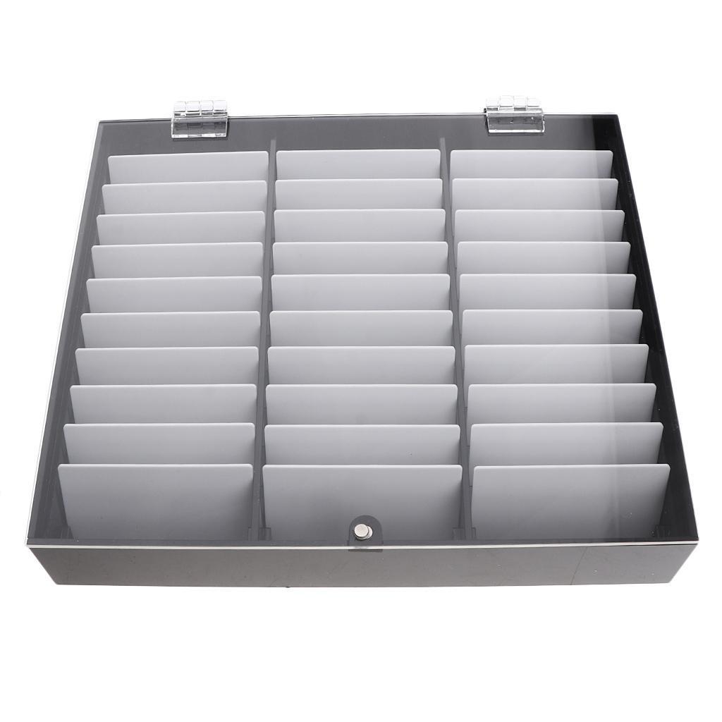 30Grids-Acrylnagelspitzen-Zeigen-Entfernbare-Falsche-Nagelkunst-Aufbewahrungsbox Indexbild 6