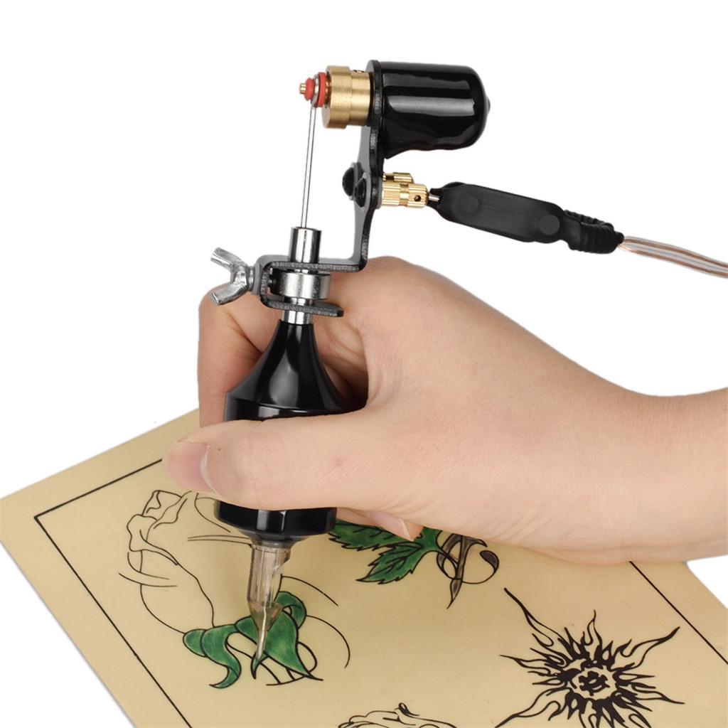 miniatura 8 - Kit completo per tatuaggio Rotary Machine Machine Guns Aghi per cartucce